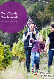 Prospekt WeinWanderWochenende Pfalz
